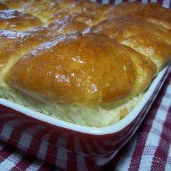 Bread Machine Garlic 'n Rosemary Dinner Rolls recipe