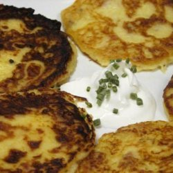 Fully Loaded Potato Skin Cakes recipe