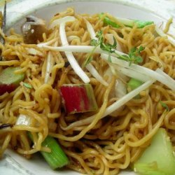 Stir-Fried Rice Noodles With Black Bean Sauce recipe