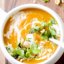 Curried Butternut soup recipe