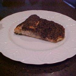 Cracked Black Pepper Salmon recipe