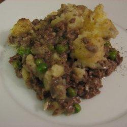 Shepherd's Pie with Garlic Mashed Potatoes recipe