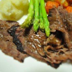 Slow Roast Leg of Lamb recipe