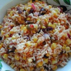 Comino Corn and Rice Salad recipe