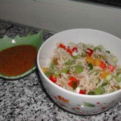 Cajun Rice Salad recipe