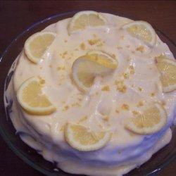 Lemon Layer Cake With Lemon Cream Frosting recipe