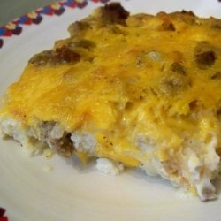 Sausage, Egg and Cheese Casserole recipe