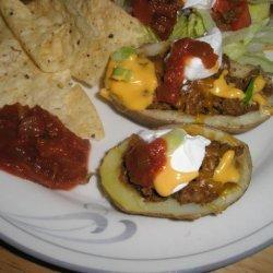 Nacho Potatoes recipe