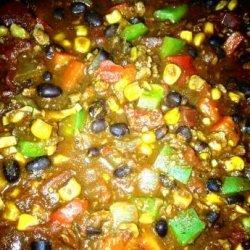 Black Bean and Soyrizo Chili recipe