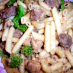 Pasta With Chicken Sausage and Broccoli recipe