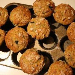 Almond Peach Muffins recipe