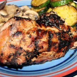 Orange and Ginger Grilled Pork Tenderloin recipe