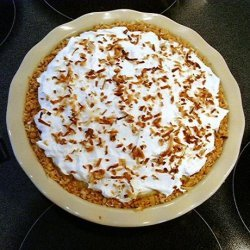 Pineapple Coconut Cream Pie in Coconut Cookie Crust recipe