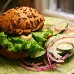 Grilled Kielbasa Sandwich recipe