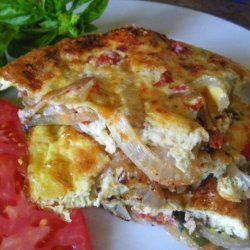 Tomato and Basil Frittata recipe