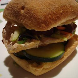 Vietnamese Chicken Sandwich (Banh Mi) recipe