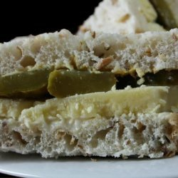 Cheese and Pickle Sandwiches recipe