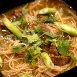 Chinese Cinnamon Beef Noodle Soup recipe