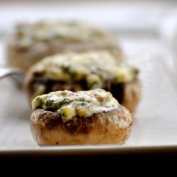 Mushrooms With Garlic Butter recipe
