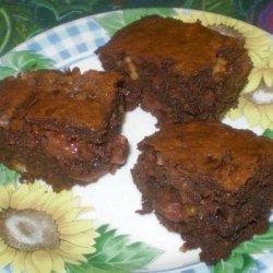 Cherry and Chocolate Brownies recipe
