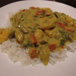 Kathy's Curried Shrimp recipe