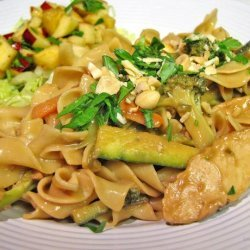 Thai Pasta With Chicken recipe