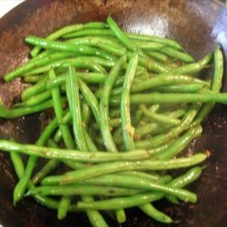Stir Fried Green Beans recipe