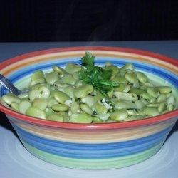 Greek Style Lima Beans recipe