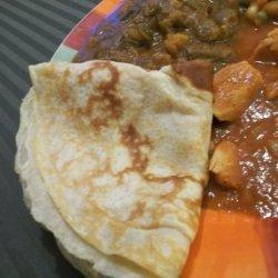 Injera (Ethiopian Flat Bread) recipe