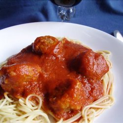 Lady and the Tramp Spaghetti and Meatballs recipe