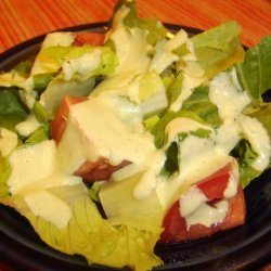 Bibb Salad With Basil Green Goddess Dressing recipe