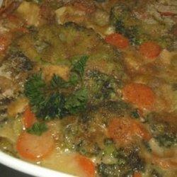 Broccoli Chicken Rice Casserole - Low Fat recipe