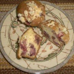 Sour Cream Strawberry Muffins recipe