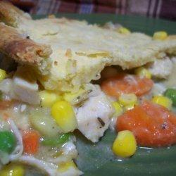 Sour Cream Pie Crust recipe
