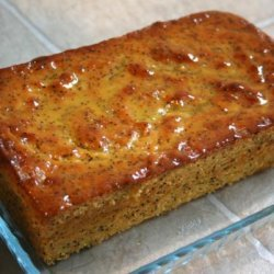 Lemon Poppy Seed Loaf With Lemon Syrup recipe