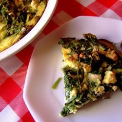 Very Rustic Spinach and Feta Tart recipe