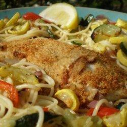 Parmesan Crusted Tilapia (Olive Garden Copycat) recipe