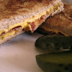 Grilled Cheese and Bacon Sandwich recipe