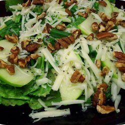 Apple and Toasted Pecan Salad With Honey Poppy Seed Dressing recipe