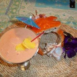 Soft and Delicate Strawberry Coconut Mango Smoothie recipe