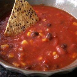 Tomato Taco Soup for the Crock Pot recipe