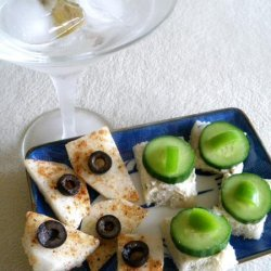 Easy Cucumber Sandwich Appetizer recipe