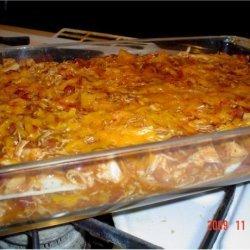 Easy Low Fat Chicken Enchilada Casserole recipe