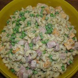Pasta Salad - Peas, Ham and Cheese recipe