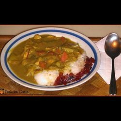 Crock Pot Golden Chicken Curry recipe