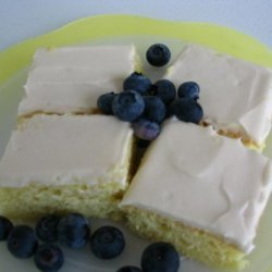 Lemon Bars With Cream Cheese Frosting recipe