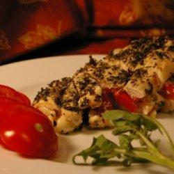Grilled Stuffed Chicken recipe
