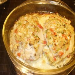 Crab Stuffed Fish Fillets recipe