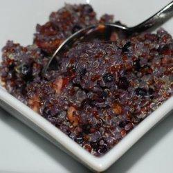 Wild Blueberry & Maple Breakfast Quinoa With Toasted Pecans recipe