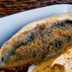 Stuffed Baked Trout recipe